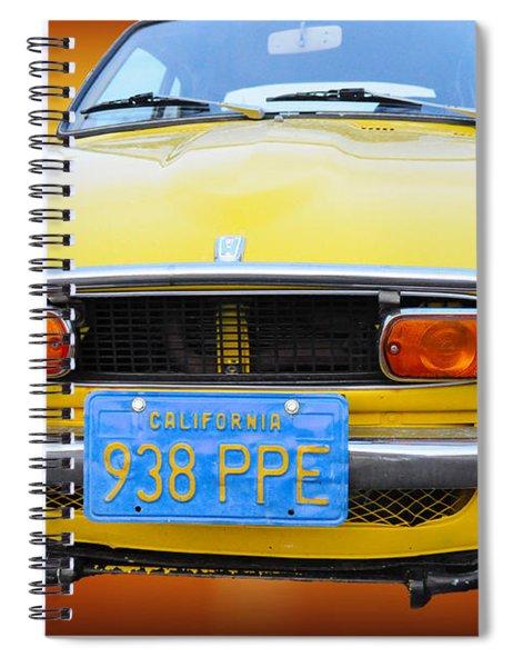 Honda Z600 Coupe I I Spiral Notebook