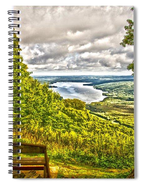 Honeoye Lake Overlook Spiral Notebook