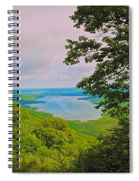 Honeoye Lake Spiral Notebook