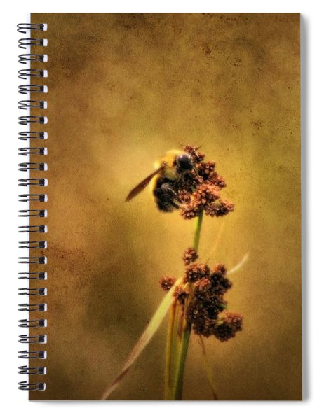 Honeybee Spiral Notebook