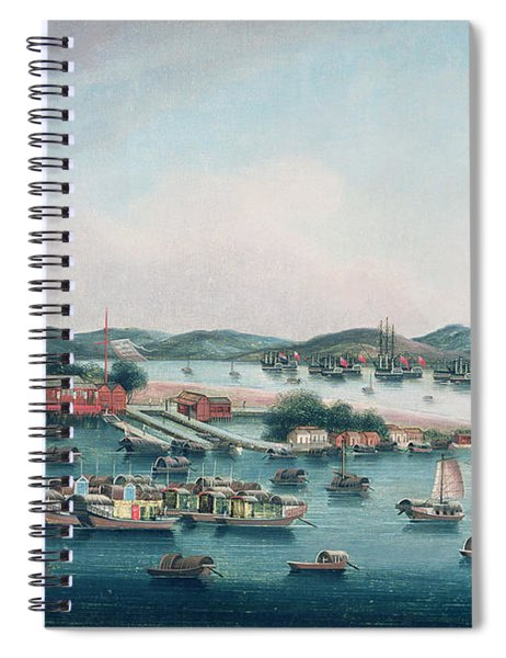 Hong Kong Harbor Spiral Notebook