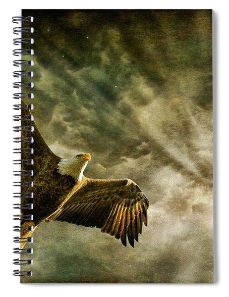 Honor Bound In Blue Spiral Notebook