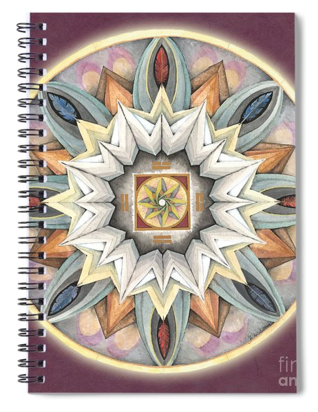Honor Mandala Spiral Notebook