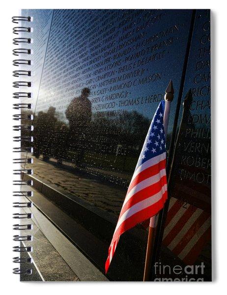 Honoring Spiral Notebook
