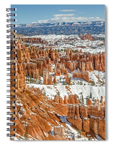 Hoodoos At Sunset Point Spiral Notebook