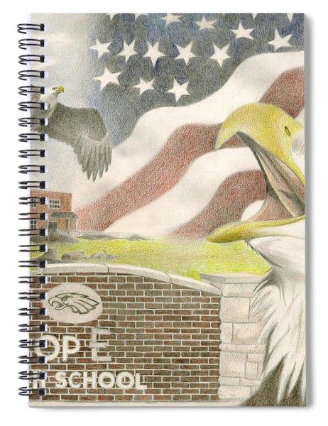 Hope High School Spiral Notebook