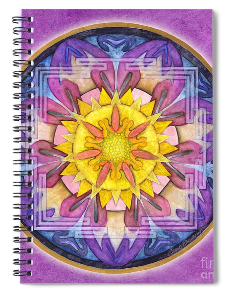 Hope Mandala Spiral Notebook
