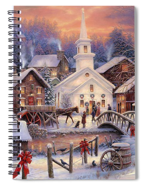 Hope Runs Deep Spiral Notebook