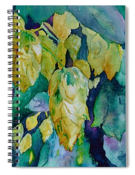 Hops Spiral Notebook