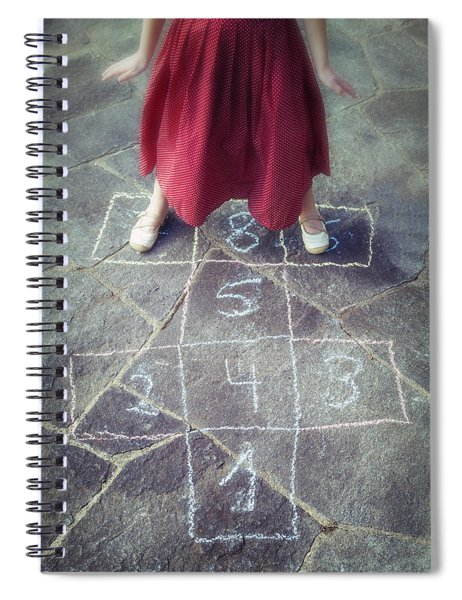 Hopscotch Spiral Notebook