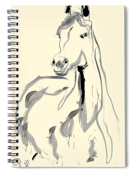 Horse - Arab Spiral Notebook