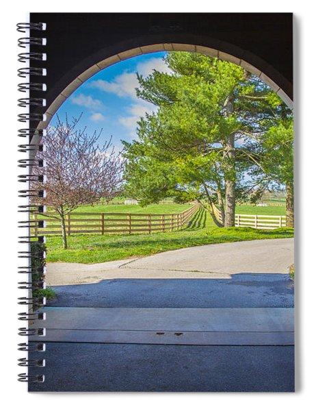 Horse Barn Spiral Notebook