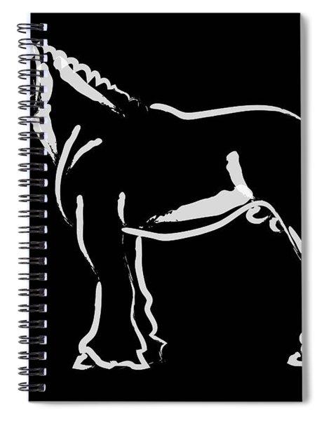 Horse - Big Fella Spiral Notebook