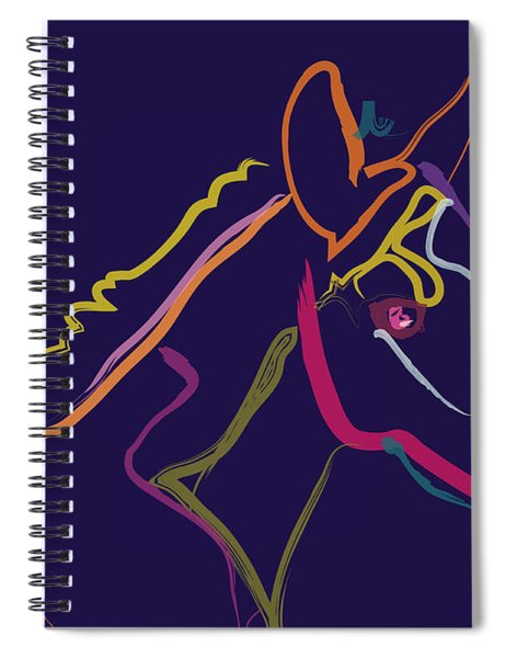 Horse - Colour Filly Spiral Notebook