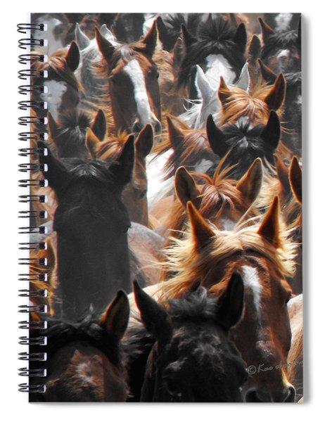 Horse Ears Spiral Notebook