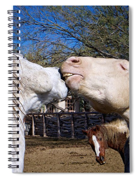 Horse Emotion Spiral Notebook