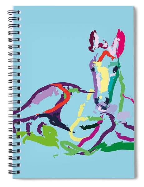Horse - Foal - Sweetie Spiral Notebook