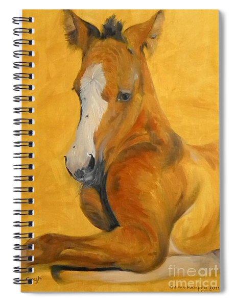 horse - Gogh Spiral Notebook