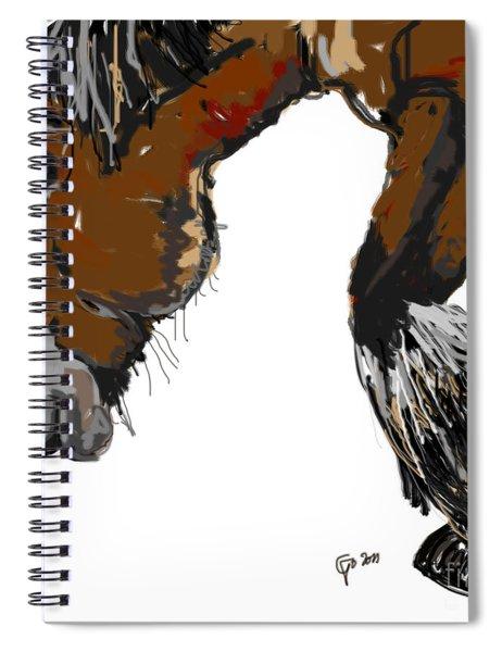 horse - Guus Spiral Notebook