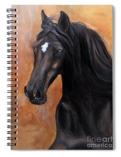 Horse - Lucky Star Spiral Notebook