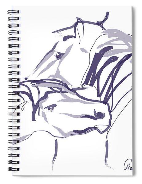 Horse - Together 10 Spiral Notebook