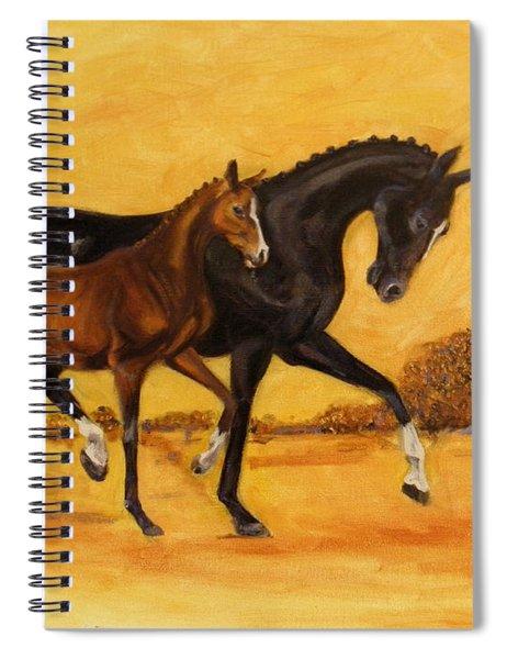 Horse - Together 2 Spiral Notebook