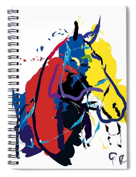 Horse- Zam Spiral Notebook
