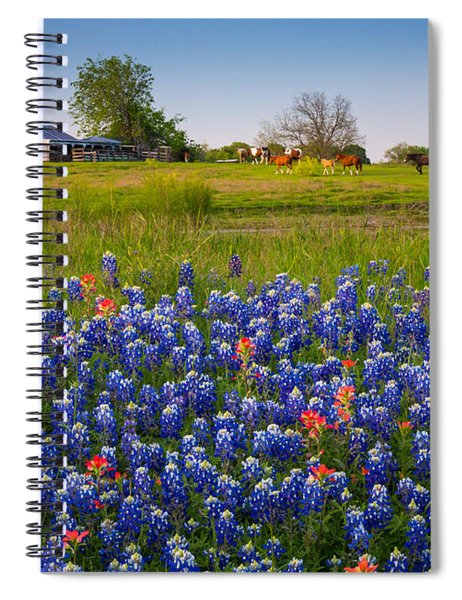 Horses Coming Home Spiral Notebook
