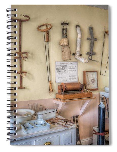 Hospital Museum Spiral Notebook