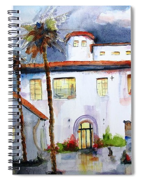 Hospitality House Spiral Notebook
