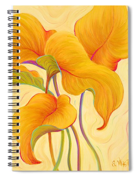Hosta Hoofers Spiral Notebook