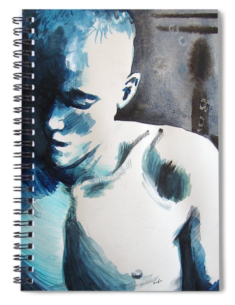 Hot Child In The City Spiral Notebook