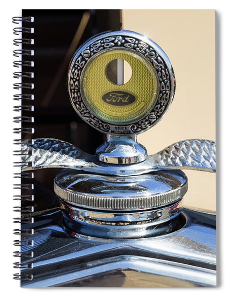Hot Rod Car Instrument Detail Spiral Notebook