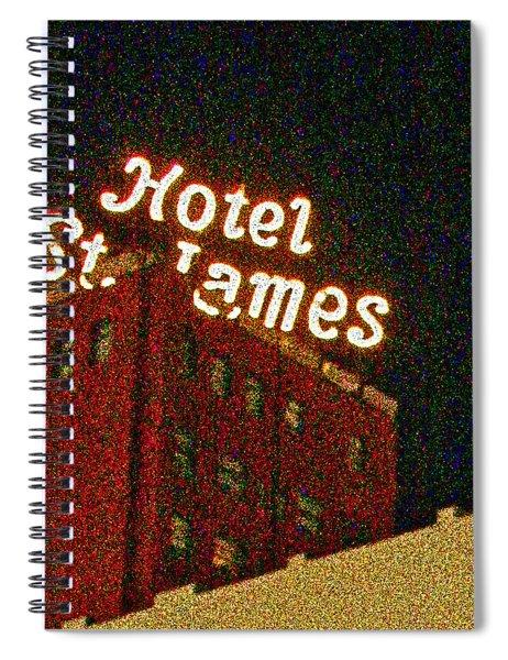 Hotel - St James San Diego Spiral Notebook