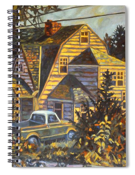 House In Christiansburg Spiral Notebook