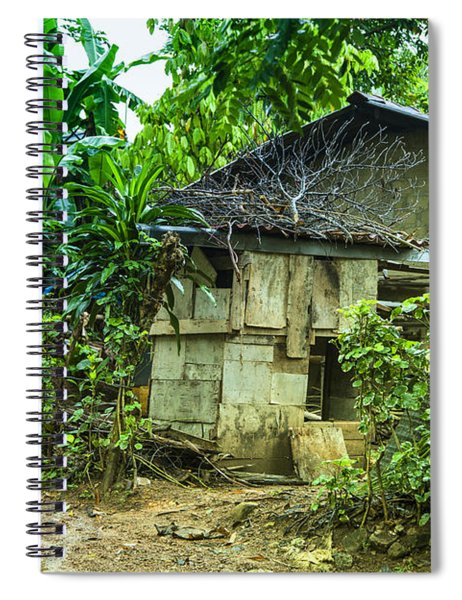 House In Green Jungle Spiral Notebook