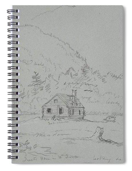 House In Mount Desert Spiral Notebook