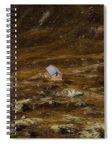 House In The Valley Spiral Notebook