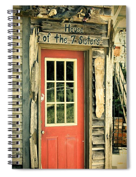 House Of The Seven Sisters Spiral Notebook