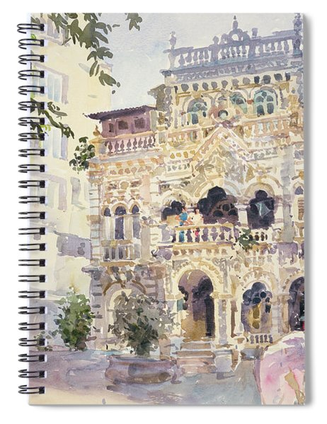 House On The Hill, Bombay Spiral Notebook