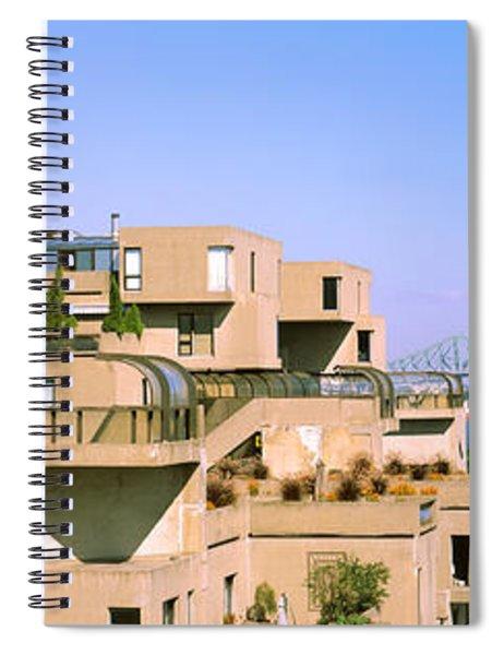 Housing Complex With A Bridge Spiral Notebook