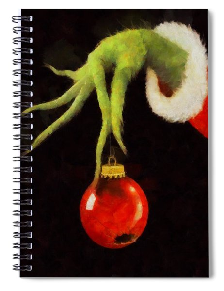 How The Grinch Stole Christmas Spiral Notebook
