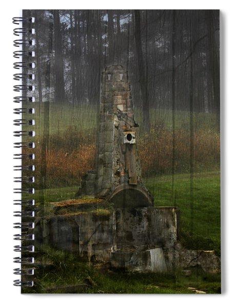 Howard Chandler Christy Ruins Spiral Notebook