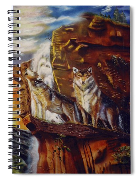 Howling For The Nightlife  Spiral Notebook