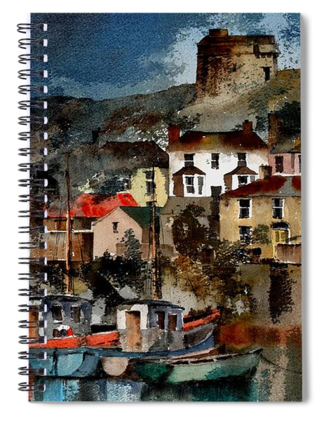 Howth Harbour In County Dublin Spiral Notebook
