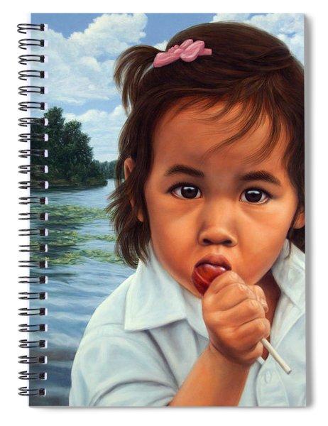 Human-nature 48 Spiral Notebook