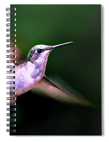 Hummer Ballet 1 Spiral Notebook