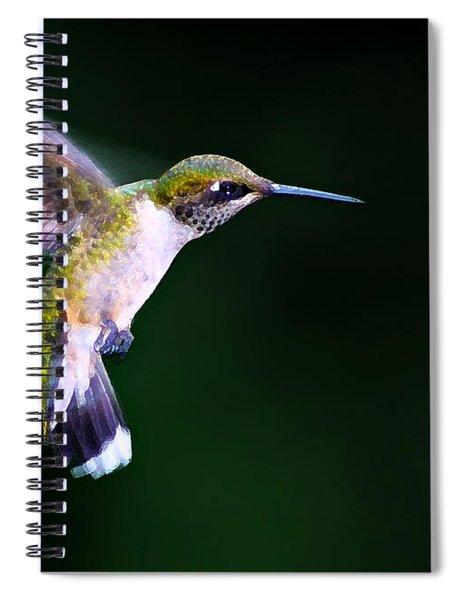 Hummer Ballet 2 Spiral Notebook