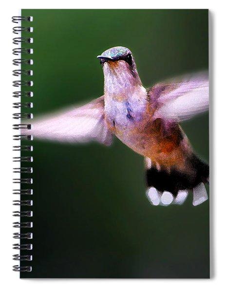Hummer Ballet 3 Spiral Notebook