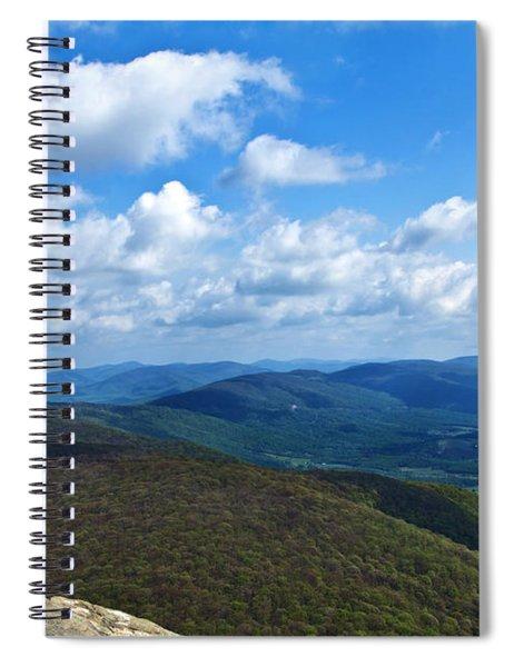 Humpback Rocks View North Spiral Notebook